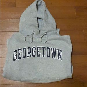Vintage Georgetown Champion Brand Hoodie